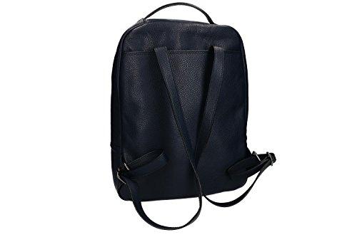 Zaino uomo a spalla PIERRE CARDIN blu pelle MADE IN ITALY VN1321 Comprar Barato Clásica Barato Para La Venta gceGO0Dq5