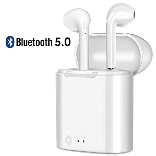 Wireless Earbuds,Bluetooth Headphone 5.0 with Charging Case Wireless Headphones Bluetooth Headset Earphones Next Song Control for iPhone,Android Other Smart Devices