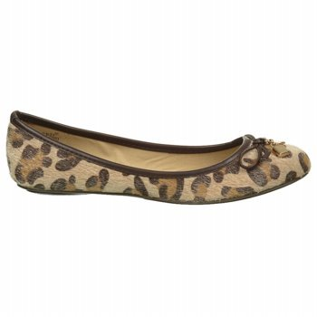 Wanted Ivy Womens Flats Leopard 10 Womens Ivy Ballerina Ballerina Wanted Flats Leopard xXwSHHqF