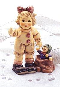 M.I. Hummel Looking Around Figurine