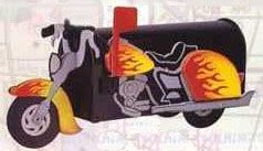 Motorcycle Novelty Mailbox by Marvelous Mailboxes