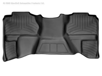 WeatherTech  440669  Custom Fit Rear FloorLiner for Select GMC/Chevrolet Models (Black) ()