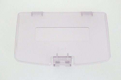 Games&Tech Atomic Purple (Clear) Nintendo GameBoy Game Boy Color GBC Battery Cover Lid Door Replacement