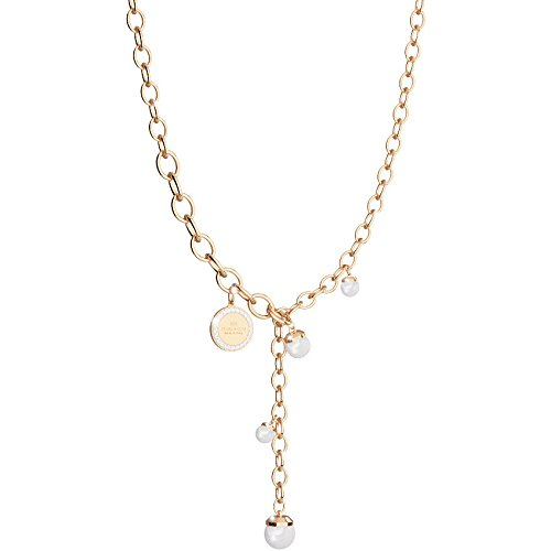 Collier Femme Bijoux Rebecca Hollywood Pearl Casual Cod. bhokoo33