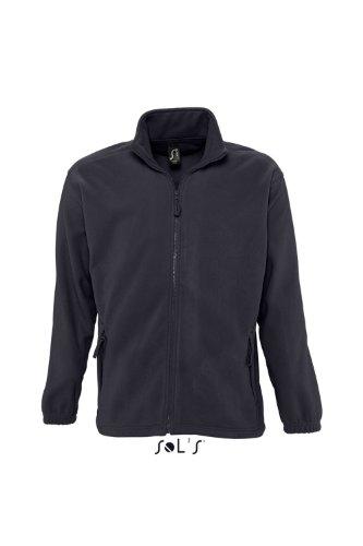 SOL´S - Fleecejacket North L,Charcoal Grey (Solid)