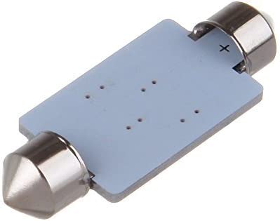 cciyu 42mm Epistar Festoon LED Bulbs 8-5050-SMD Blue Super Bright Interior Car Lights 211 212-2 214-2 211-2 214-2 6411 560 569 578 fit for Dome Map Door Light Courtesy Light Bulbs Pack of 2