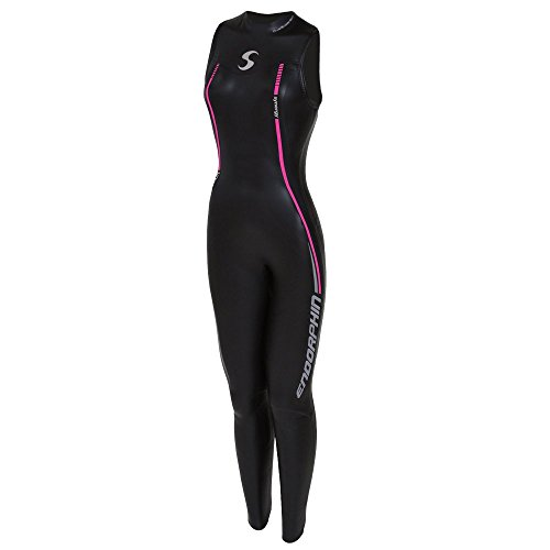 Triathlon Wetsuit 5/3mm Women's Synergy Endorphin Sleeveless Long John Smoothskin Neoprene for Open Water Swimming Ironman Approved