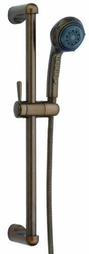 Danze D465005RBD Three Function Hand Shower with 24-Inch Slide Bar, Distressed Bronze by Danze