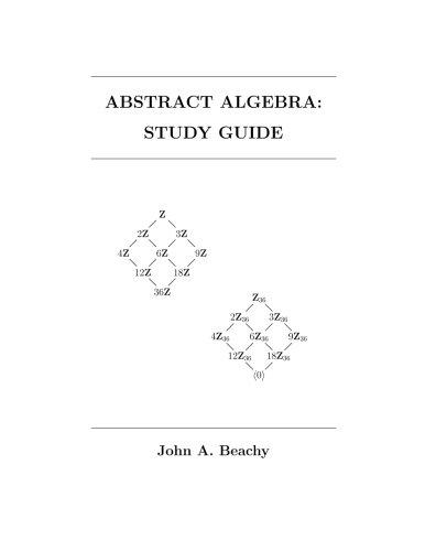 Abstract Algebra: Study Guide - John Abstract Print