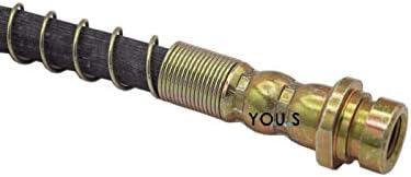 mm mm : M10x1 : 320 Filetage Femelle 1 X YOU.S Tuyau de Frein Mb238161 Longueur