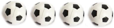 Vktech - New 4pcs 32mm Plástico Bolas de Fútbol de Mesa Foosball ...