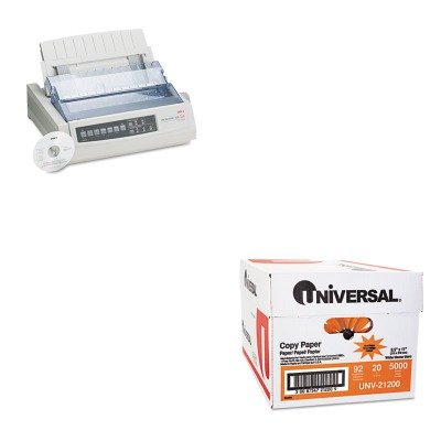 KITOKI62411601UNV21200 - Value Kit - Oki Microline 320 Turbo Dot Matrix Impact Printer (OKI62411601) and Universal Copy Paper (UNV21200)