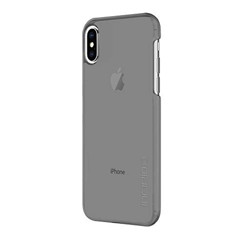Incipio Feather Pure iPhone X Case with Ultra-Thin Clear Snap-On Design for iPhone X - Smoke