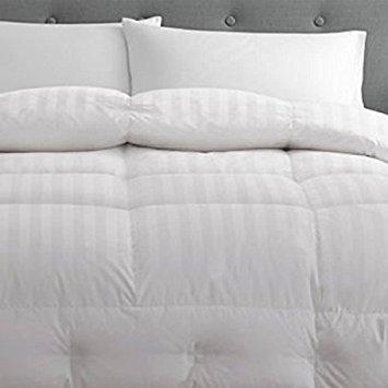 Pacific Coast European Down Comforter Hypoallergenic 650 Fill 500 Count  100% Cotton Year Round Comfort