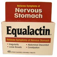 Equalactin Laxative Chewable 48 Tablets