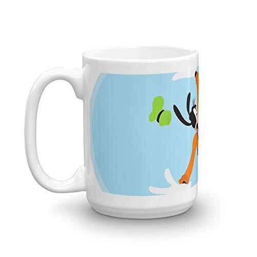 Goofy. 15 Oz Classic Coffee Mugs, C-handle And Ceramic Construction. 15 Oz Ceramic Glossy Mugs Gift For Coffee Lover (Mug Goofy)