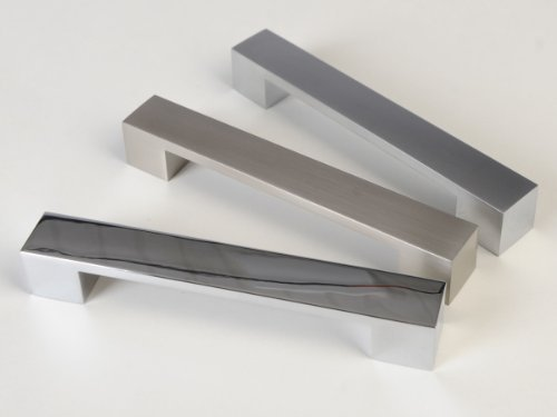 SO-TECH® Möbelgriff Möbelgriffe Griff Griffe Chrom poliert 128 mm