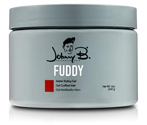 Johnny B All Day Hold Fuddy Matte Gel (12 oz) (22nf Gel)