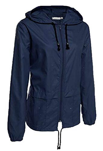 Up Hooded Zip Color Jacket GRMO Outdoors Women Waterproof Solid One wq74BXOB