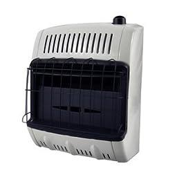Mr. Heater Corporation Vent Free Flame Propane Heater, 10k BTU, Blue