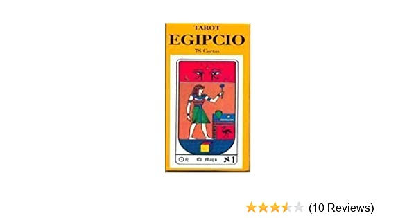 TAROT EGIPCIO C/ 78 CARTAS: SIN AUTOR: 9789589196434: Amazon ...