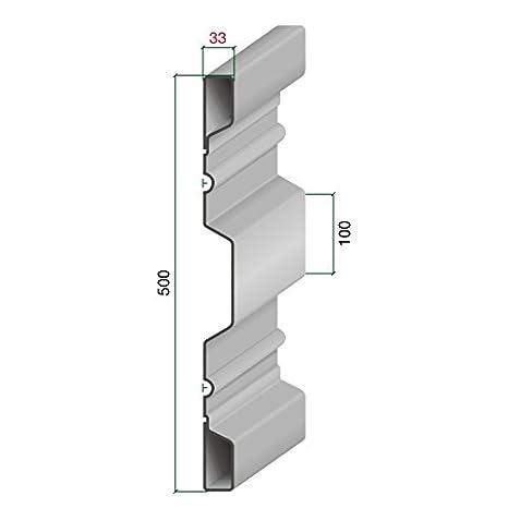 14010 Bordwand 500/33 Blechdicke 2 mm Archus Neumeier GmbH & Co. KG