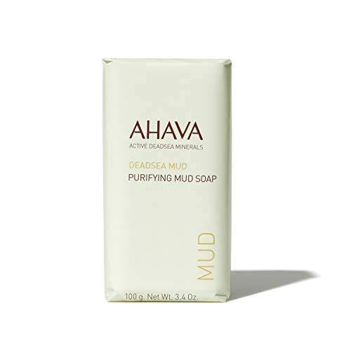 AHAVA Dead Sea Purifying Mud Soap, 3.4 Fl Oz
