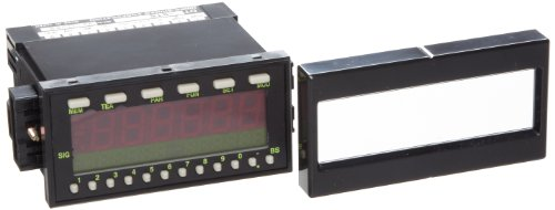 Shimpo DT-5TS Panel Mount Tachometer, LED Display, 0 Output Modules, +/- 0.008 percent Accuracy