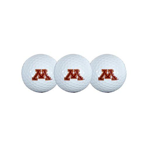 Minnesota Golden Gophers Golf Ball - Team Effort Minnesota Golden Gophers Golf Ball 3 Pack