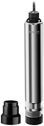 Bomba sumergible 5500/5 inox Premium de GARDENA para pozos perforados: bomba para pozos, caudal 5500l/h, acero inoxidable, bomba sumergible automática con seguro de marcha en seco integrado (1489-20)