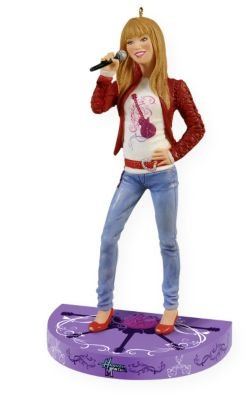 Hannah Montana 2009 Hallmark Ornament (Christmas Miley Cyrus Song)
