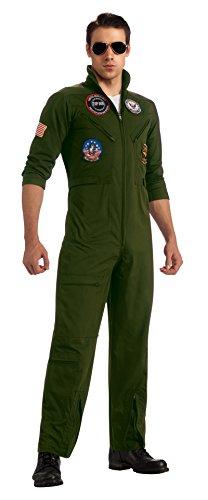 Maverick Top Gun Costume - 880886 (XL) Top Gun Suit Aviator Costume Goose Or Maverick Costume