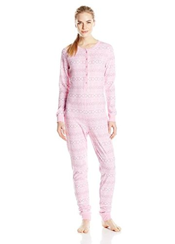 20f7d0c57d61b2 Fruit of the Loom Women's Waffle Thermal Union Suit - Women's ...