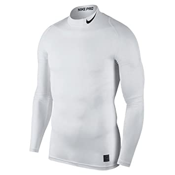 16259faabae1 Nike Women s Pro Compression Mock Long Sleeve Top Underwear  Amazon ...