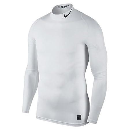 Nike M NP Top LS Comp Mock Long Sleeved t-Shirt, Hombre 838079-100