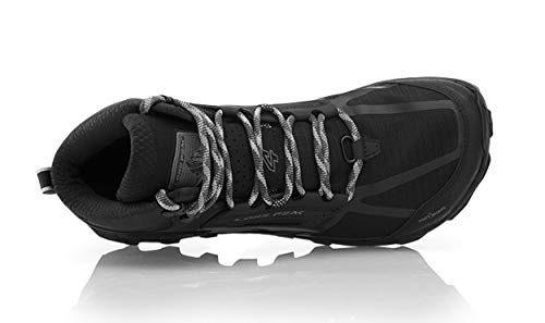 Altra Women's Lone Peak 4 Mid Mesh Trail Running Shoe, Black - 7.5 B(M) US by Altra (Image #3)