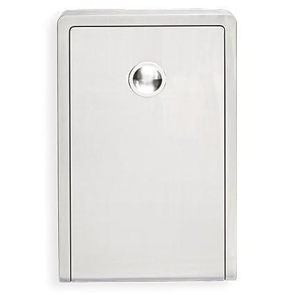 kemmlit Malaga cambiador de Plegable como pared wickel mesa/cambiador de, acero inoxidable,