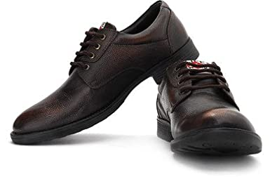 d3aac86340 Image Unavailable. Image not available for. Colour: Lee Cooper Men's Brown  Leather Shoes - 9 UK