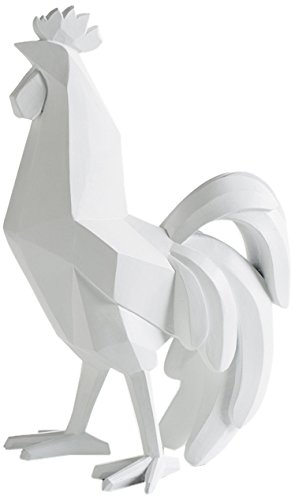 amazon com torre tagus 901987a carved angle rooster decor white