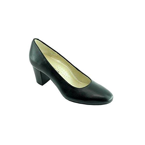 Zapatos de Tacón Negro Azafatas Voltige C-Negro