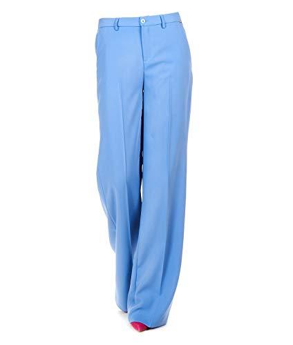Mujer Jeans Poliéster Pantalón Claro W19497t7982x0167 Liu Azul WUngTZOO