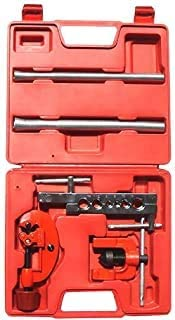 Flaring Tool SAKHT 5 Pieces Flaring Tool Set with Copper Tube Cutter Spring Tube Benders