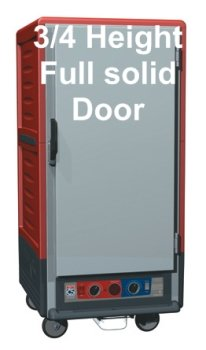 Metro C537-CFC-U C5 3 Series Heated Holding And Proofing Cabinet - Clear Door - ()