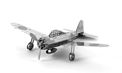 - Fascinations Metal Earth Mitsubishi Zero Fighter Airplane 3D Metal Model Kit