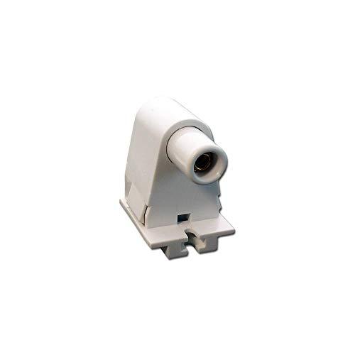 Slimline Base, Single Pin, Fluorescent Lampholder, Pedestal, Slide/Snap-On, Plunger