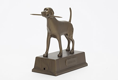 Artori Design - AD272 - Good Dog - Bronze Plastic Toothpick Dispenser Holder. Home, Housewarming, Kitchen Gift. (Plastic Toothpick Dispenser)