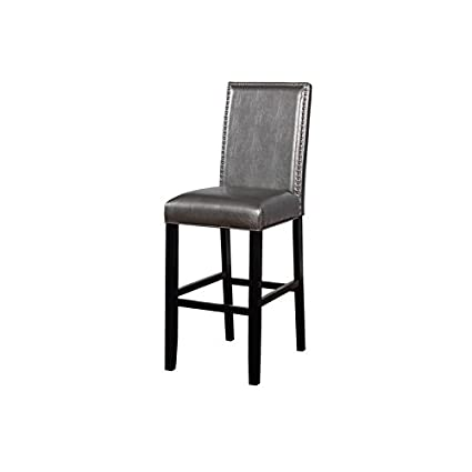 Amazon.com: Riverbay Furniture - Taburete de bar en peltre ...