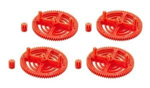 UltraFlight Orange High Performance Gears for the Parrot AR Drone 2.0