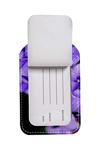 Yuzheng Pantone Colour Of The Year 2018_ Ultra Violet luggage tags for tourism,business ()