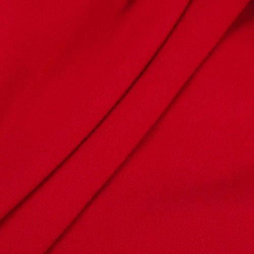 Petto Rot Slim Autunno Winter Outwear Moda Cappotto Coat Lungo Donne Doppio Trench Giacca Lana Faux Parka In Jacket Warm Donna Bavero Classiche iuOkPZX